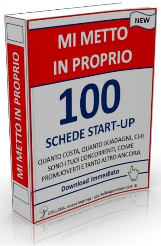 Mi metto in proprio - 100 Schede Startup